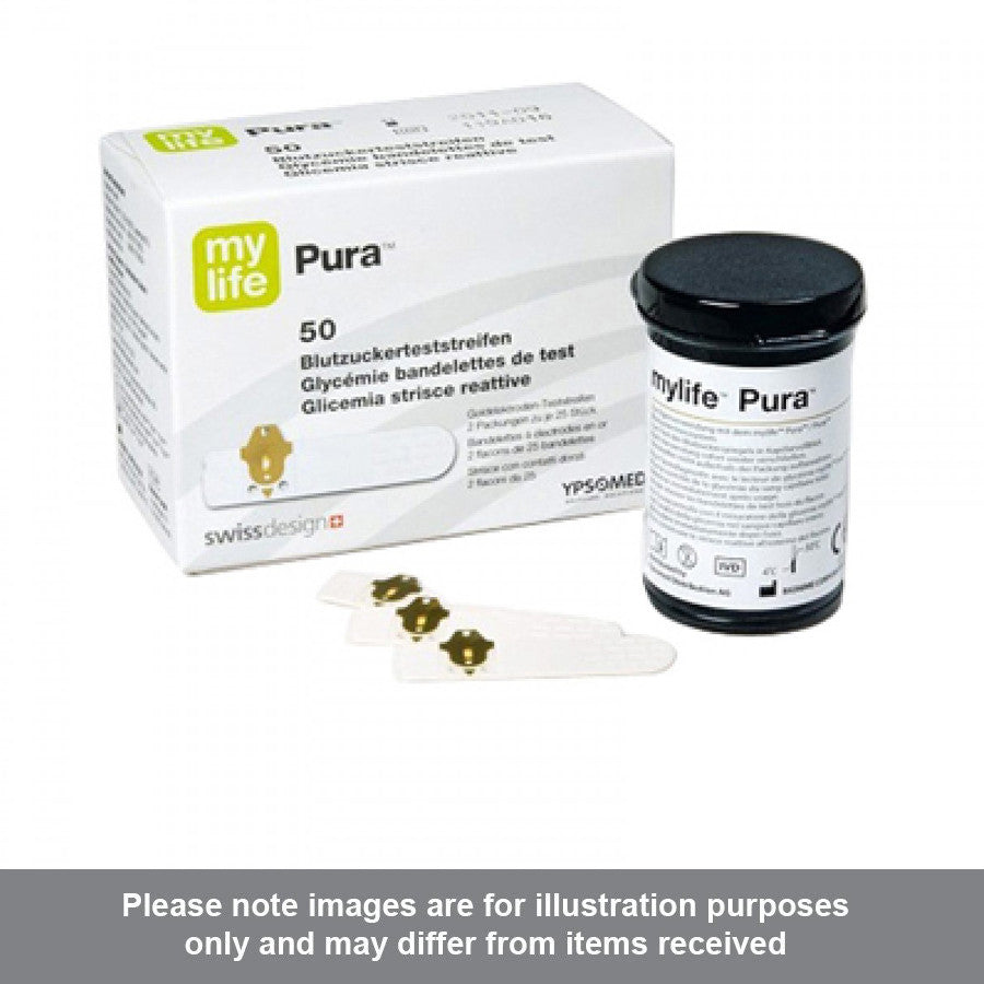 MyLife Pura Test Strips pack of 50 - Pharmacy4Life
