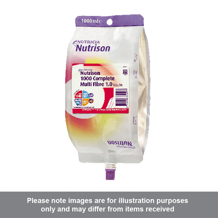 Nutrison 1000 Complete Multi fibre 1000ml Pack of 8 - Pharmacy4Life