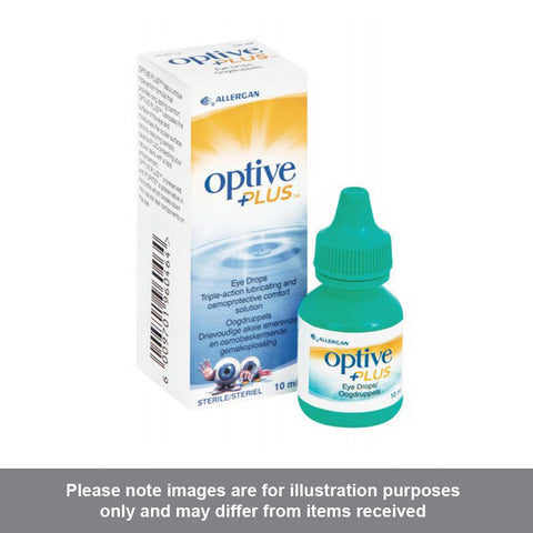 Optive Plus Eye Drops