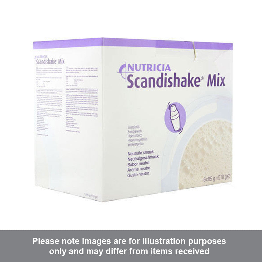 Scandishake Mix Unflavoured 85g Pack of 6 - Pharmacy4Life