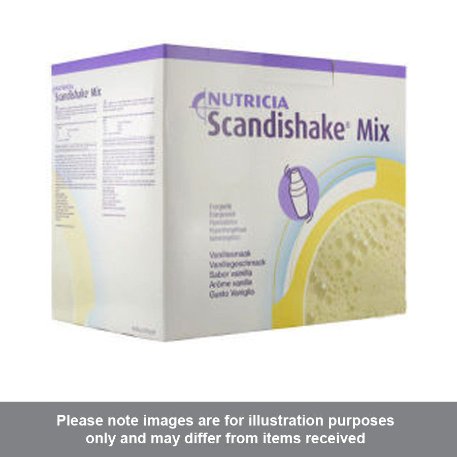 Scandishake Mix Vanilla Flavour 85g Pack of 6 - Pharmacy4Life