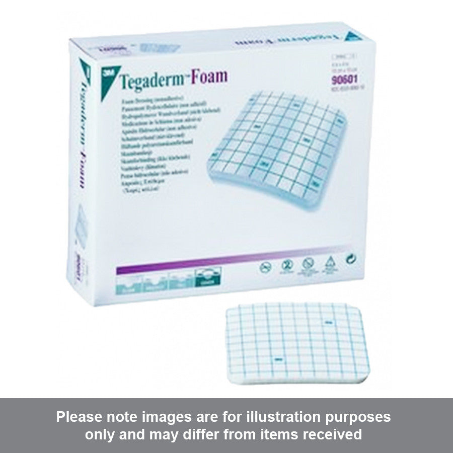 3M Tegaderm Foam Dressing 10cm x 10cm - Pharmacy4Life