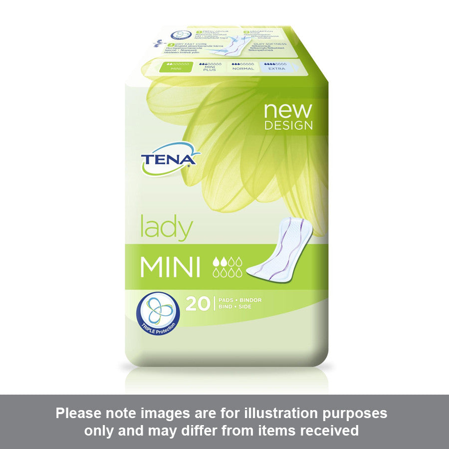 Tena Lady Mini Pack of 20 - Pharmacy4Life