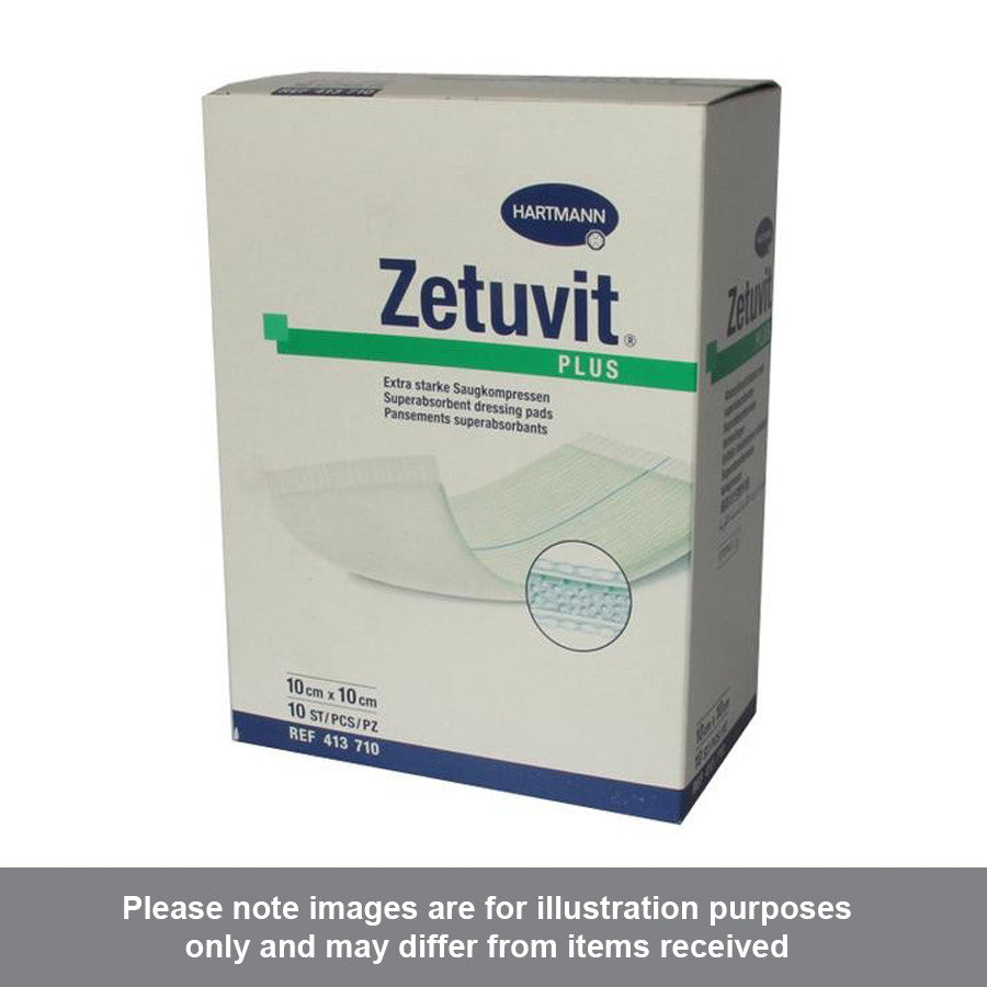 Zetuvit Plus Sterile 10cm x 10cm - Pharmacy4Life