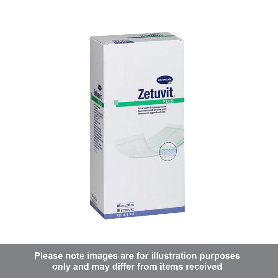 Zetuvit Plus Sterile 10cm x 20cm - Pharmacy4Life