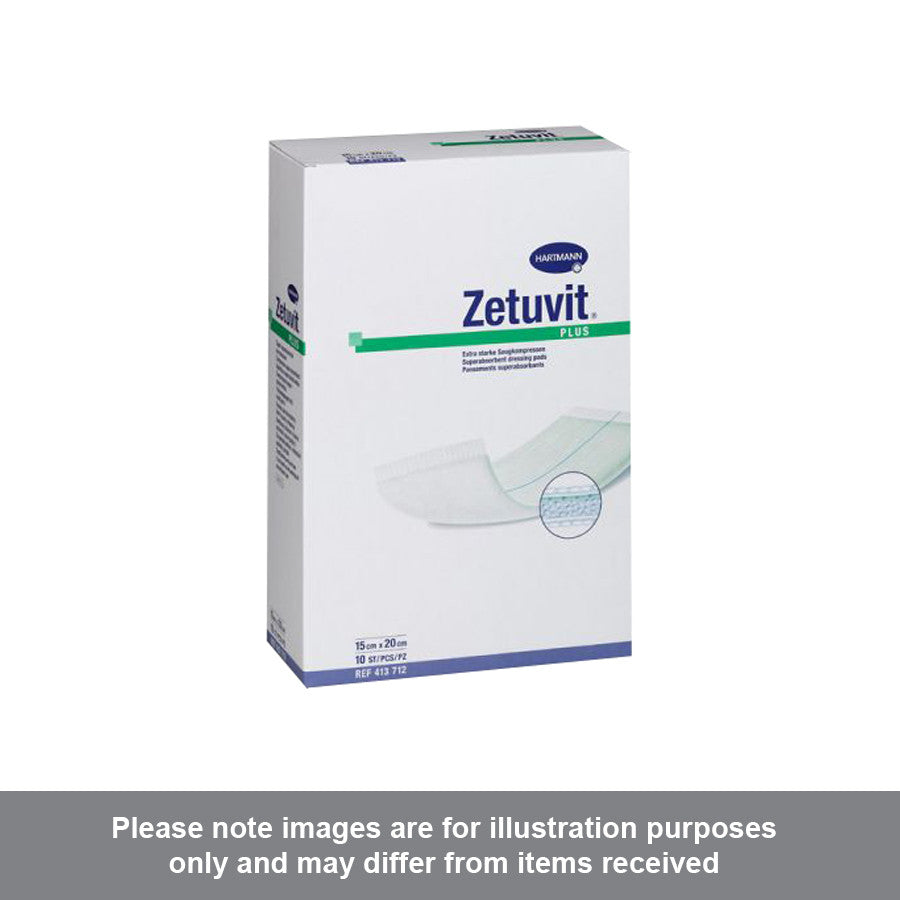 Zetuvit Plus Sterile 15cm x 20cm - Pharmacy4Life