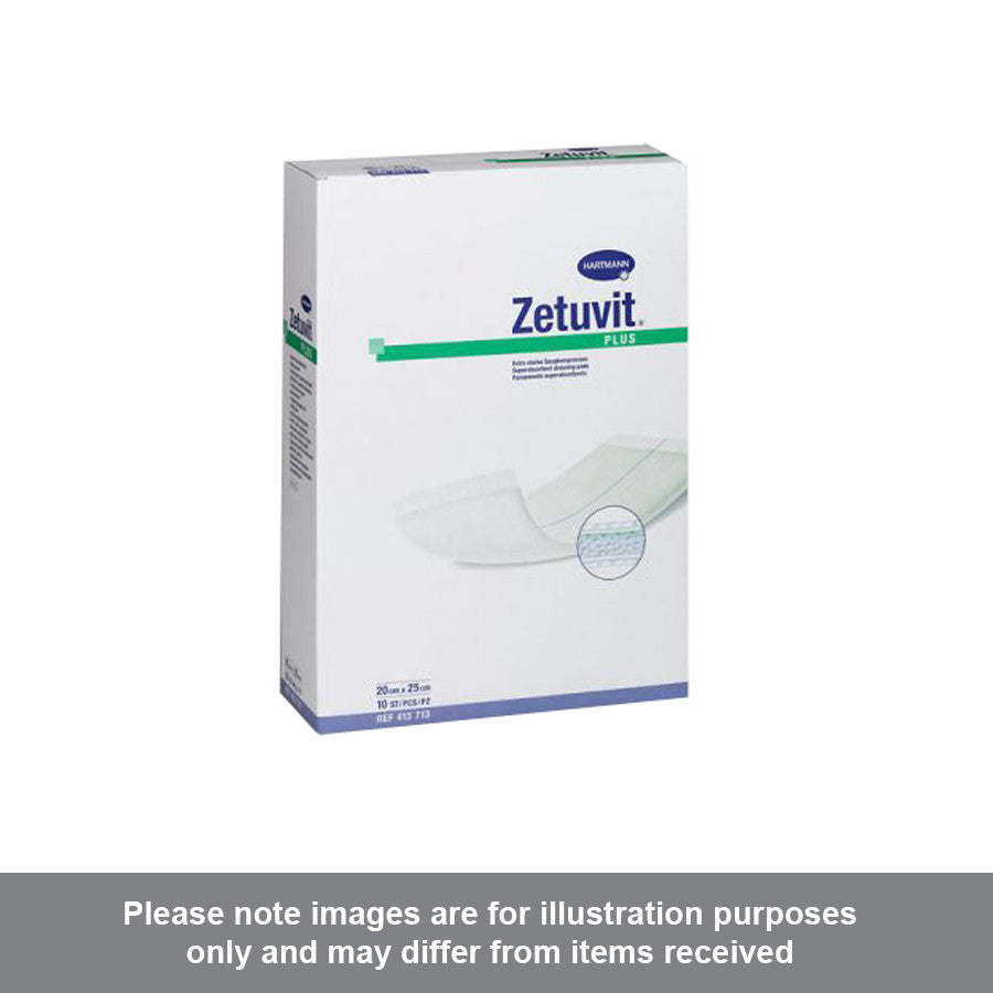 Zetuvit Plus Sterile 20cm x 20cm - Pharmacy4Life