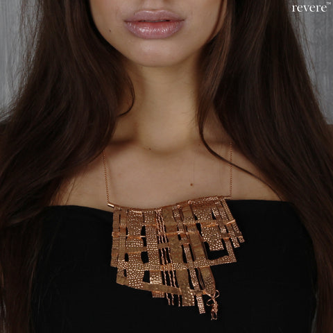 Nerida Necklace | Rose Gold | Brass