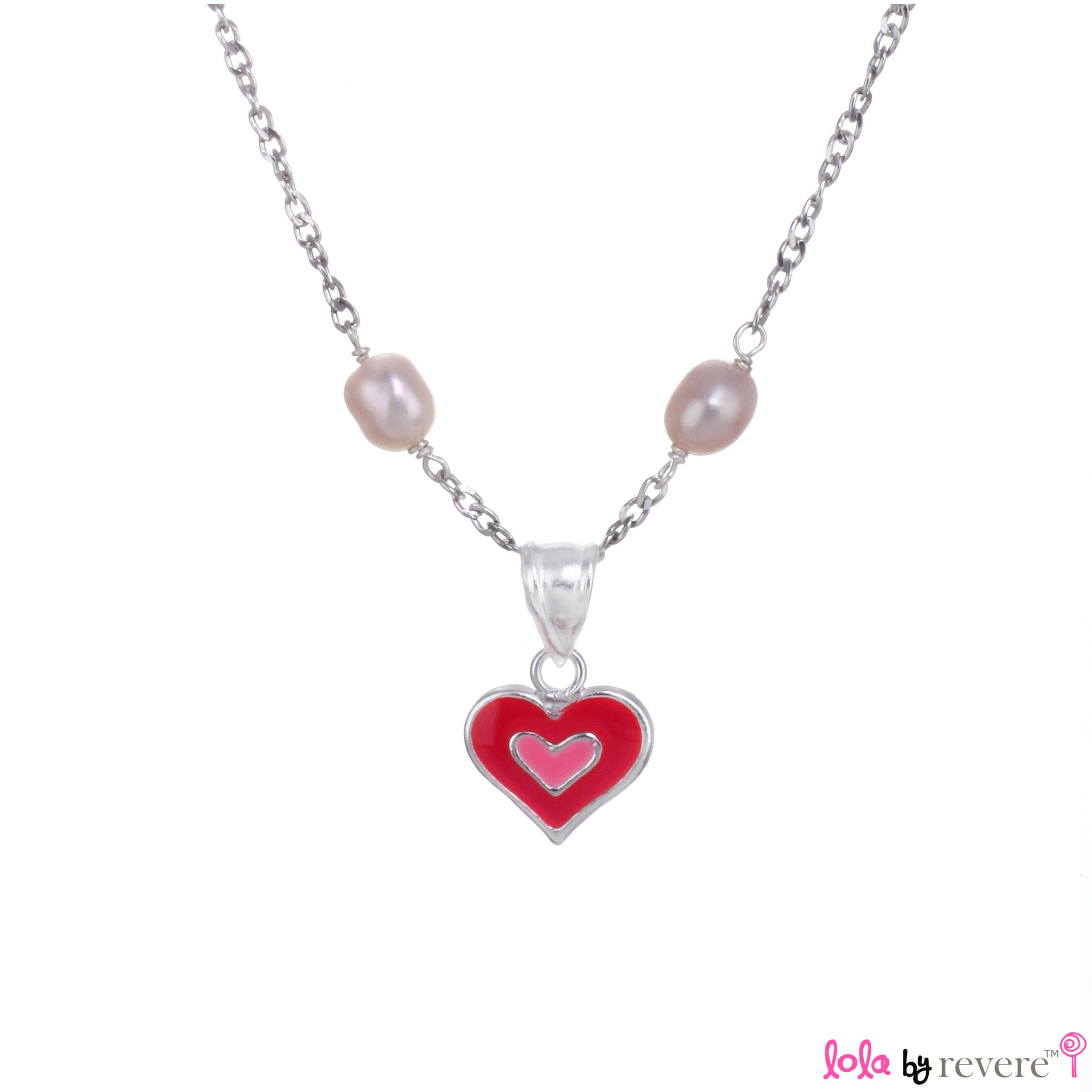 jewel boa pearl cecilia multi necklace strand products pink