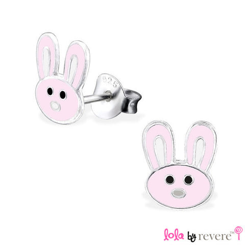 Bunny Earrings | Sterling Silver