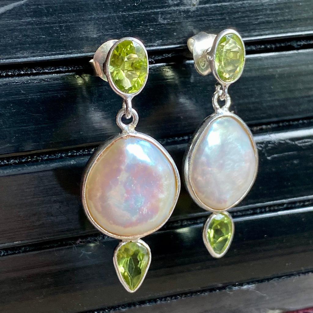 Azal Peridot Earrings