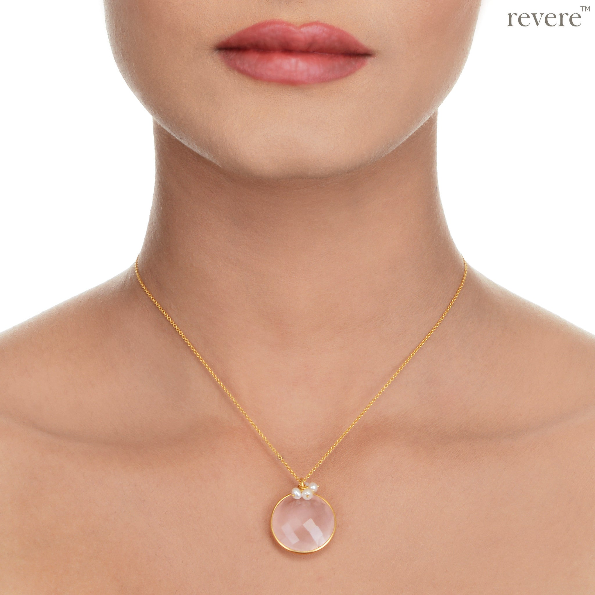 leaf necklace jewellery blush zu products collection lariat