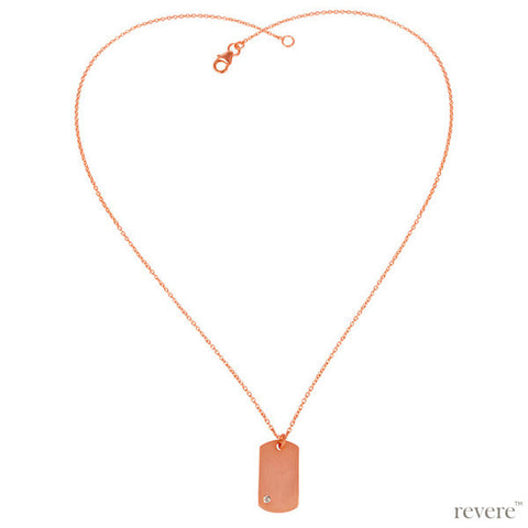 Semplice Necklace | Rose Gold | Sterling Silver