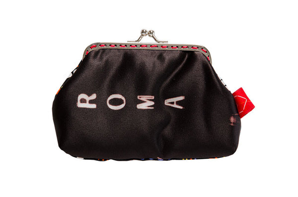 "Bainha de Rua Wallet, Purse & Shoulder Bag ""Roma-Amor"""