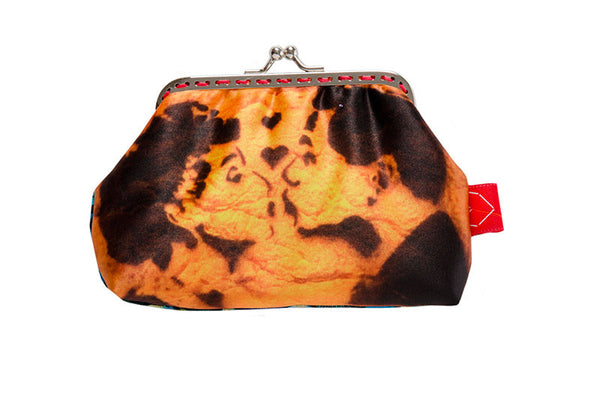 "Bainha de Rua Wallet, Purse & Shoulder Bag ""Beijo"""