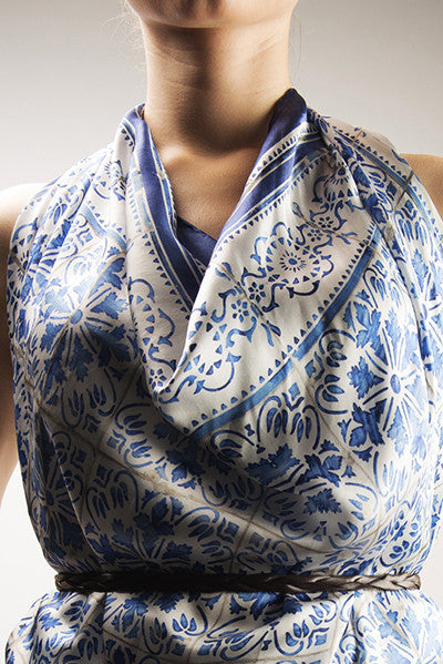 A Tale of Tiles Picotado Big Scarf