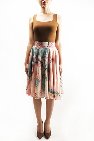 FRESS Marbled Salmon Full Skirt