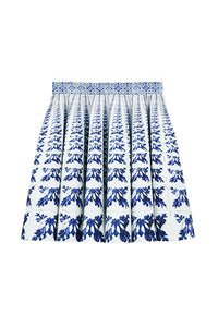 A Tale of Tiles Paneled Skirt
