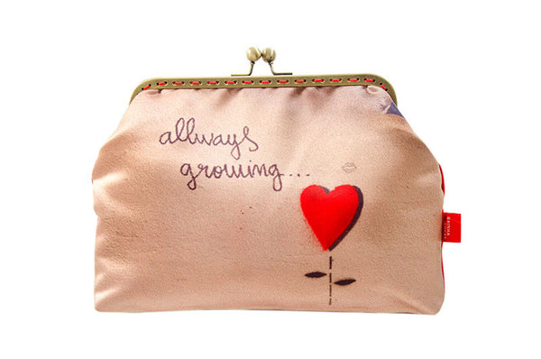 "Bainha de Rua Wallet, Purse & Shoulder Bag ""Allways Growing"""