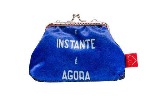 "Bainha de Rua Wallet, Purse & Shoulder Bag ""O Instante é agora"""