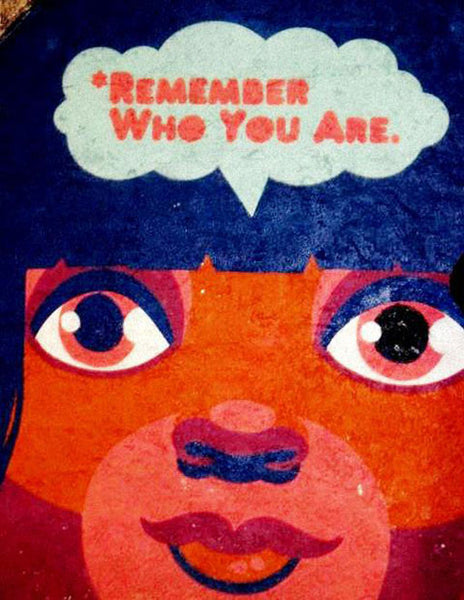 "Bainha de Rua Wallet, Purse & Shoulder Bag ""Remember who you are"""