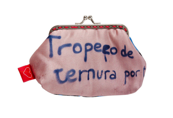 "Bainha de Rua Wallet, Purse & Shoulder Bag ""Tropeço de ternura por ti"""