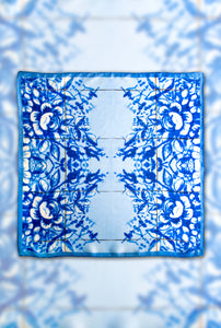 A Tale of Tiles Albarrado Square Scarf