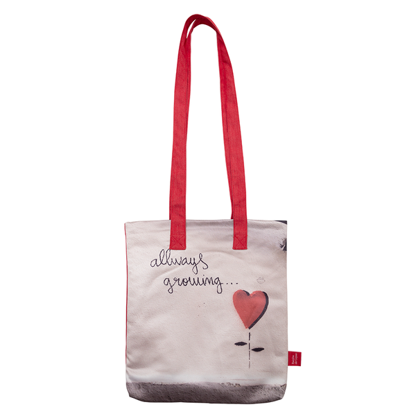 "Bainha de Rua Tote Bag ""Allways Growing"""