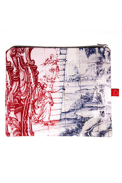 Versatile Infinita Blue-Red Clutch