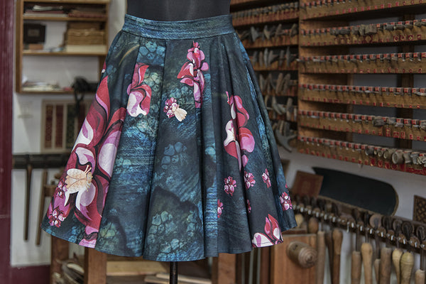 Queen Bee Paneled Skirt