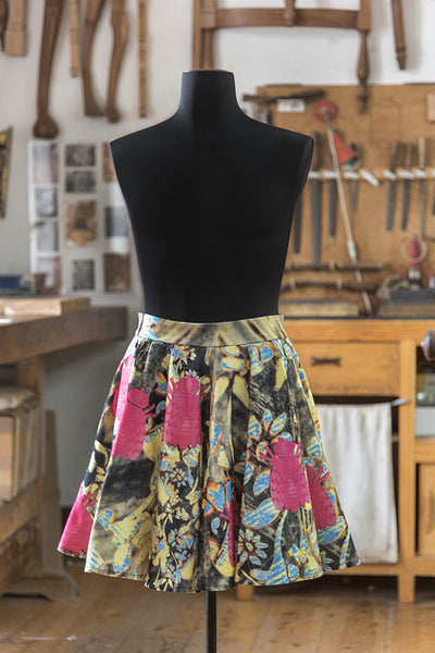 Pink Bee Full Skirt