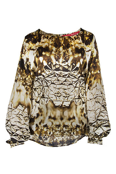 FRESS Gold Blouse
