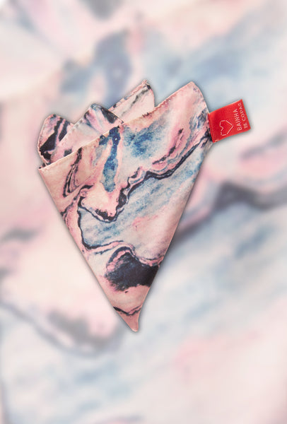 FRESS Marbled Pink Pocket Scarf