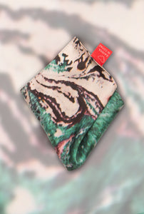 FRESS Marbled Green Pocket Scarf