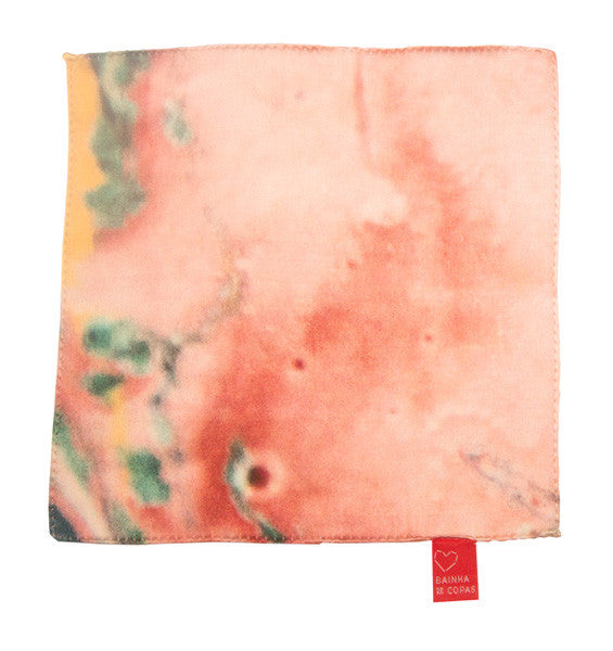 FRESS Marbled Salmon Pocket Scarf