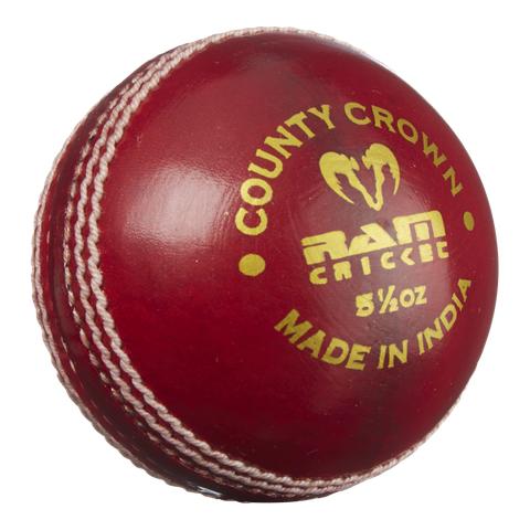 Ram Cricket County Crown Match Ball - Box of 6 - 25% discount