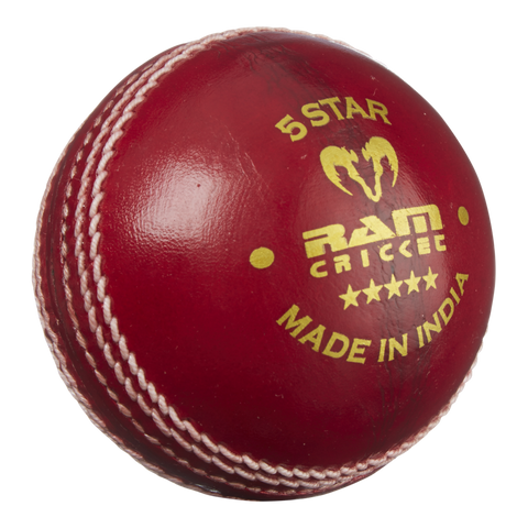 Ram Cricket 5 Star Match Ball - Box of 6