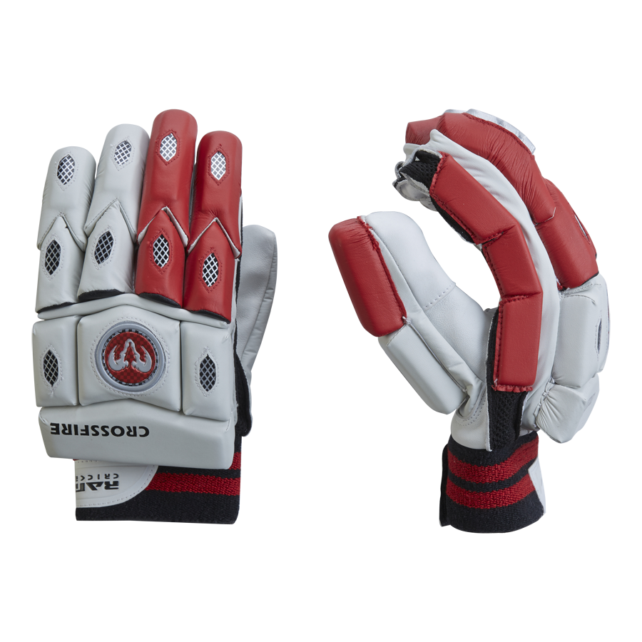 Ram Cricket Crossfire Batting Gloves - Left Hand