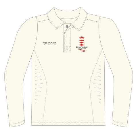 Kingstonian CC - Protec Cricket Shirt - Long Sleeve