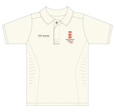 Kingstonian CC - Protec Cricket Shirt - Short Sleeve