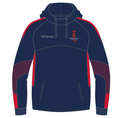 Kingstonian CC - Hooded Midlayer - Edge