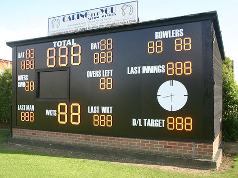 Electronic LED Scoreboxes