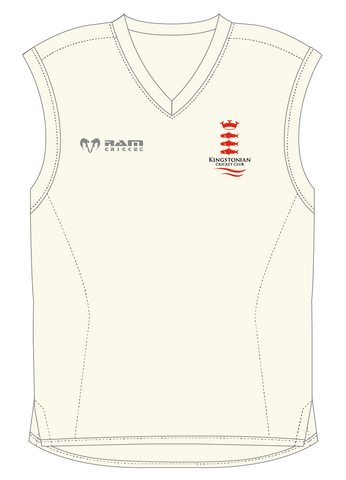 Kingstonian CC - Protec Cricket Fleece - Sleeveless