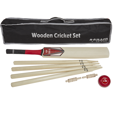 Wooden Cricket Set - 3 sizes available