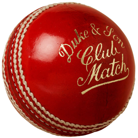 Dukes Club Match Cricket Ball - box of 6