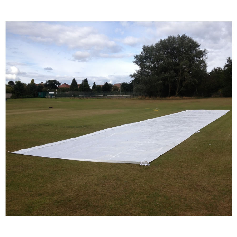 County Wicket Protector Flat Sheet - Pegs