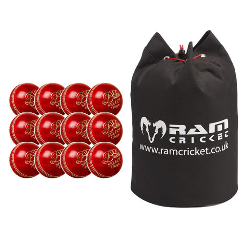 Dukes Select 'A' Match Ball Bundle - Includes Carry Bag