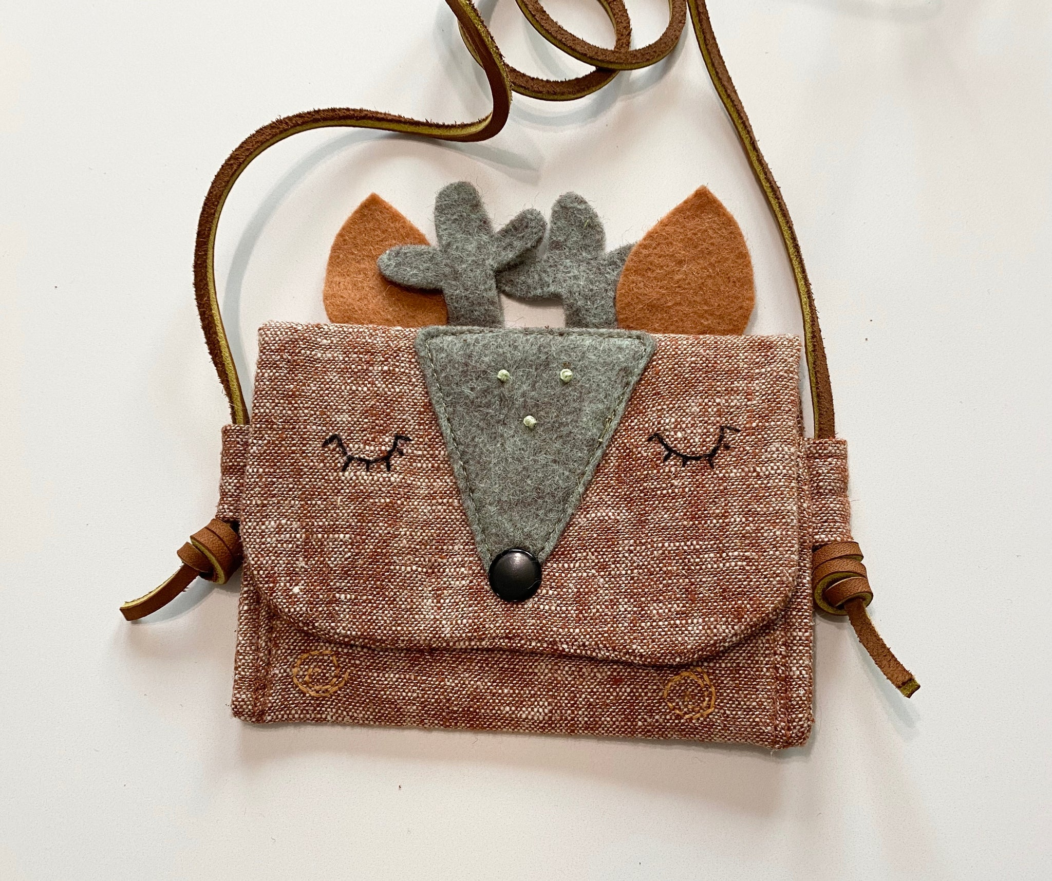 Forest Friends Treasure Pouch
