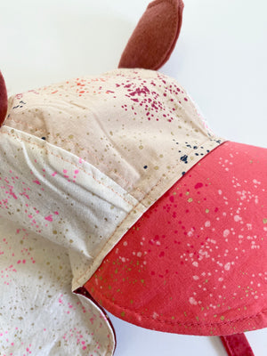 Reversible Heirloom Bonnet - Ruby Speckled