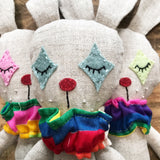 Small Linen Bunny Doll